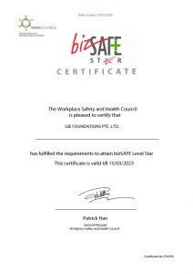 Workplace Safety and Health Council bizSAFE